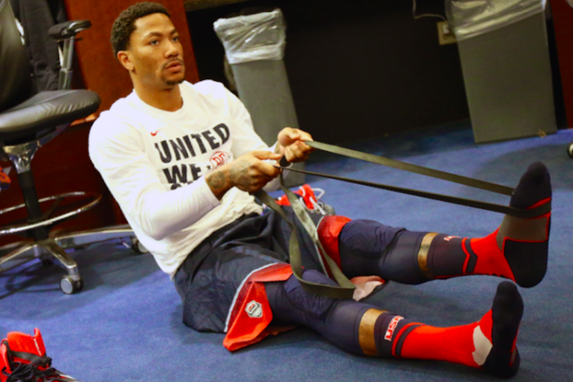 FIBA Tournament Proving Derrick Rose's Climb Back Will Be a Slow One