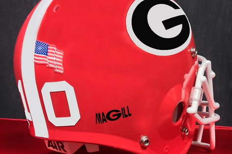 Photo: Georgia Will Wear Commemorative Decal on Helmets Saturday