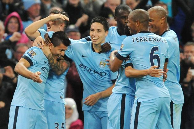 Manchester City vs. Stoke City: Date, Time, Live Stream, TV Info and Preview