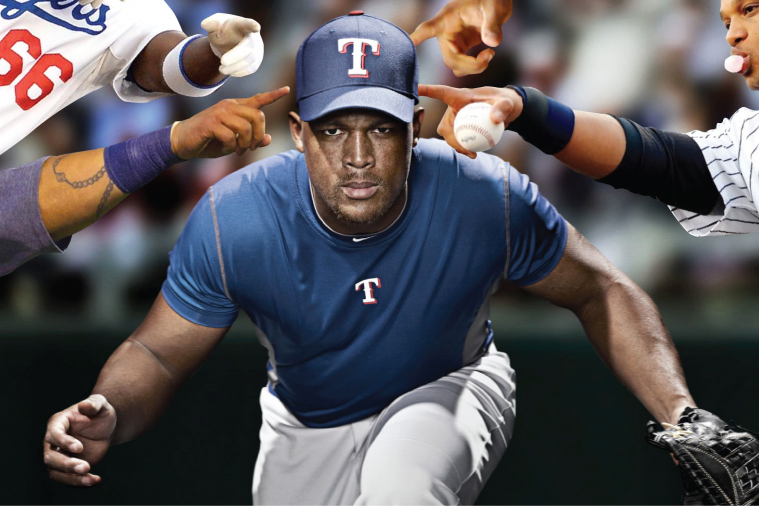 Whatever You Do, Don't Touch Adrian Beltre's Head!