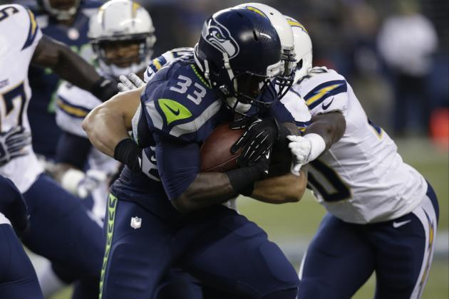 Seahawks RB Christine Michael Remains a Supremely Talented Work In Progress