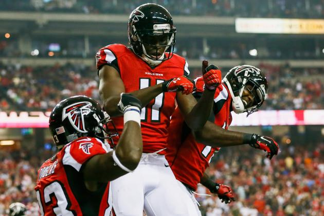 Atlanta Falcons vs. Jacksonville Jaguars: Falcons Live Score and Analysis
