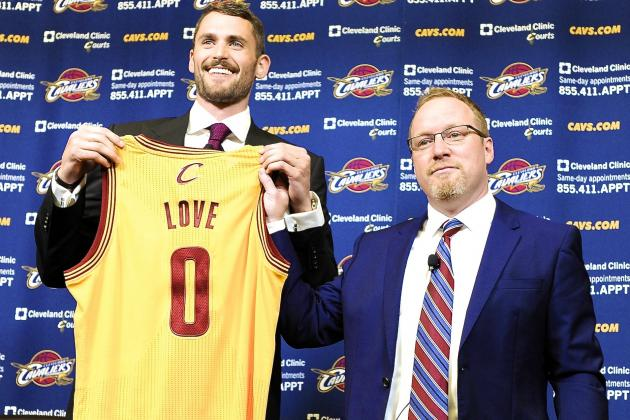 Can Kevin Love Accept Diminished Role with Cavaliers?