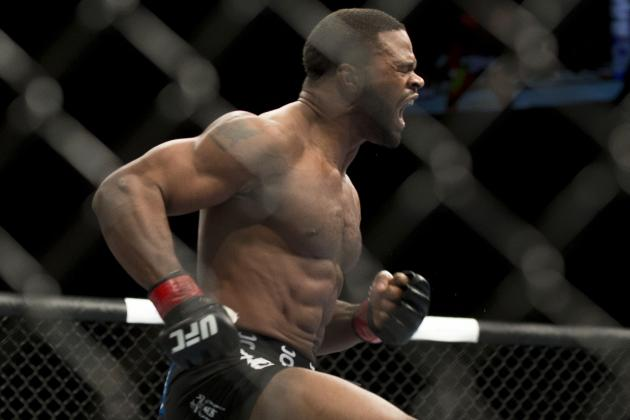 Dana White Says UFC Is Targeting Tyron Woodley vs. Hector Lombard
