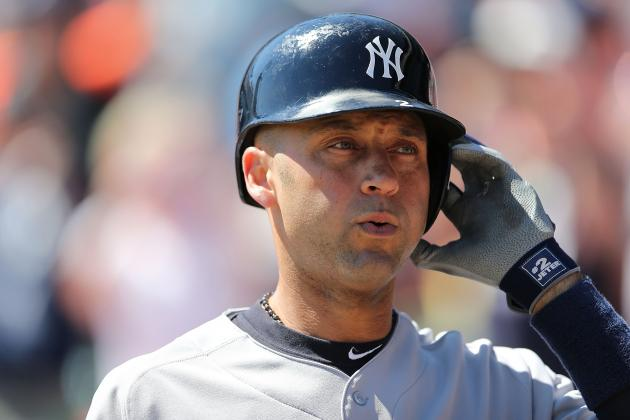 Jeter Focused on Playoff Race After Motown Farewell
