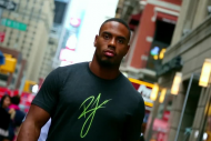 NYG RB Rashad Jennings Crashes a Fantasy Football…
