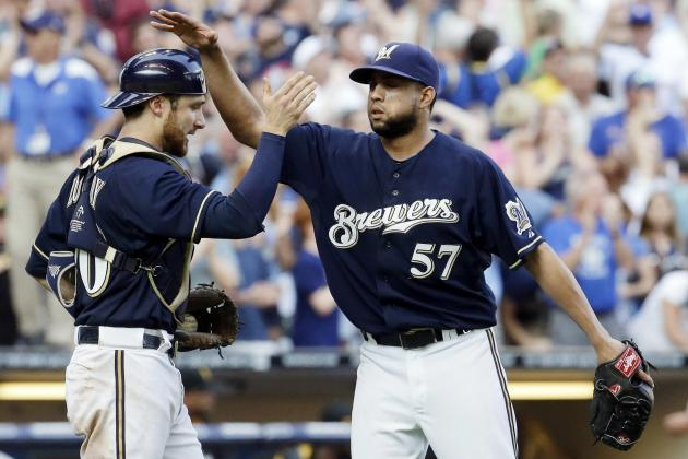 Brewers' Francisco Rodriguez Reaches 1,000 Career Strikeouts