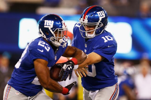 Another Dismal Outing for Giants Offense