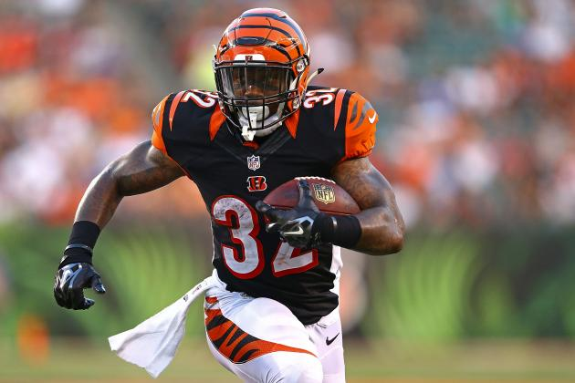 Jeremy Hill's Instant Fantasy Reaction After Preseason Performance vs. Colts
