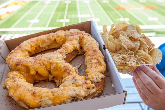 Maryland to Sell Massive 1.5-Pound Pretzels at Byrd Stadium