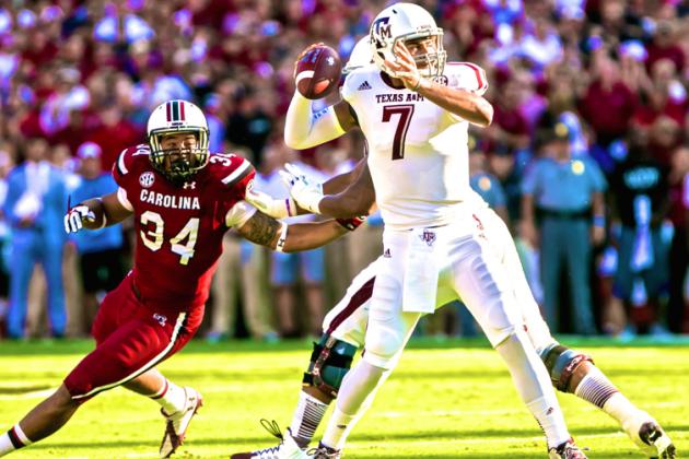 Texas A&M vs. South Carolina: Live Score, Highlights and Analysis