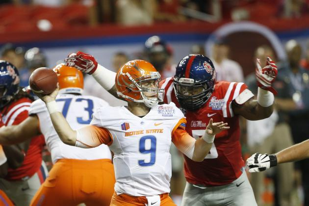 Boise State vs. Ole Miss: Game Grades, Analysis for Broncos and Rebels