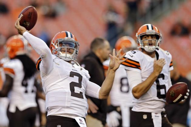 Johnny Manziel vs. Brian Hoyer: Fantasy Reaction for Browns QBs vs. Bears