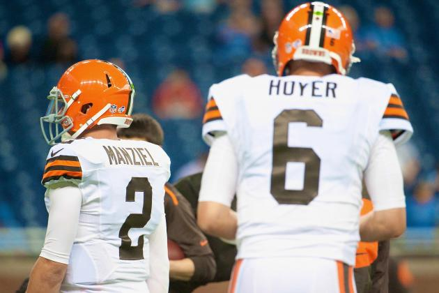 Questions Still Linger for Brian Hoyer, Johnny Manziel After Browns QB Battle