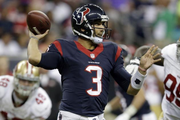 Preseason Proves Bill O'Brien's Texans Have QB Issues in Both Present and Future