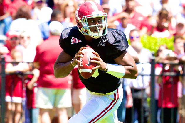 Blake Sims Reportedly Will Start Alabama's 2014 Season Opener vs. West Virginia