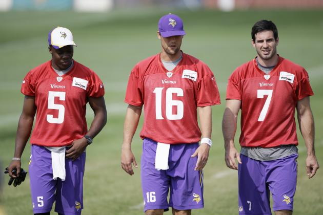 Teddy Bridgewater vs. Matt Cassel Fantasy Reaction for Vikings QBs vs. Titans