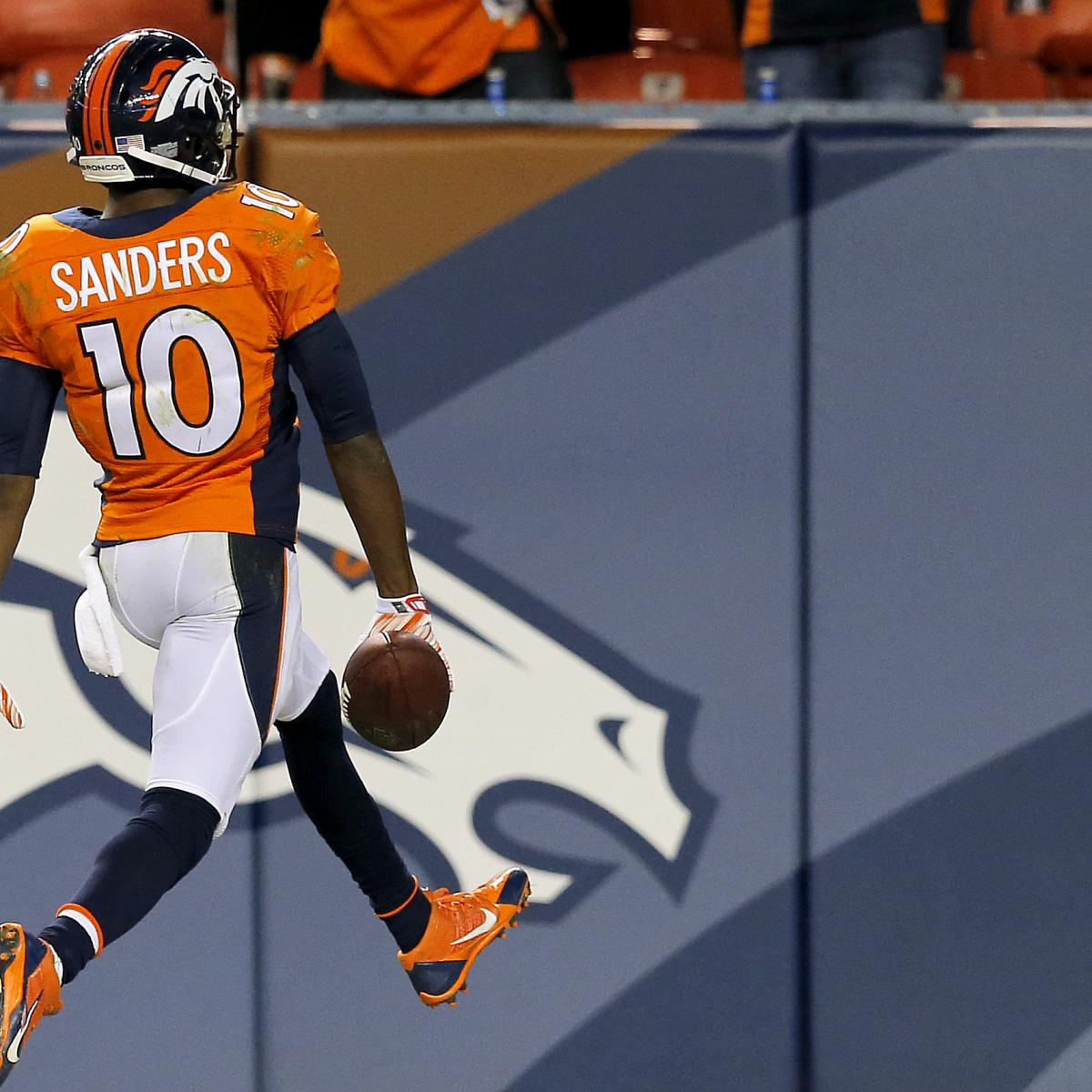 Denver News Market: Why Emmanuel Sanders Is The Denver Broncos' Biggest X