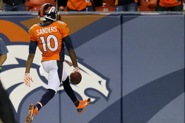 Why Emmanuel Sanders Is the Denver Broncos' Biggest X-Factor in 2014