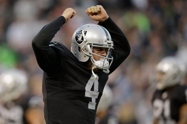 Derek Carr Deserves Starting Nod over Matt Schaub After Preseason Performance