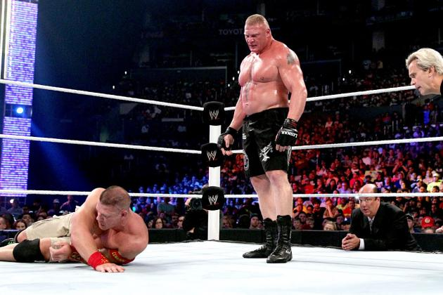 Brock Lesnar Is the Fan Favorite to End John Cena's Run at the Top of WWE