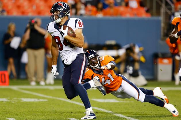 Why Ryan Griffin Is Houston Texans' Biggest X-Factor in 2014