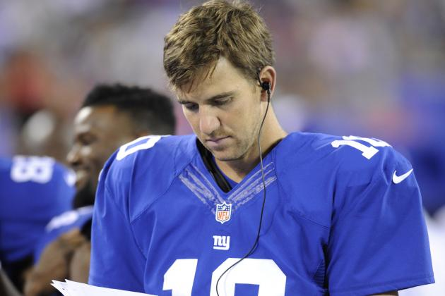 Eli Manning Lose Confidence with More Giants Offensive Struggles?