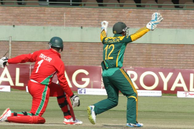 Zimbabwe vs. South Africa: Triangular Series Highlights, Scorecard and Report