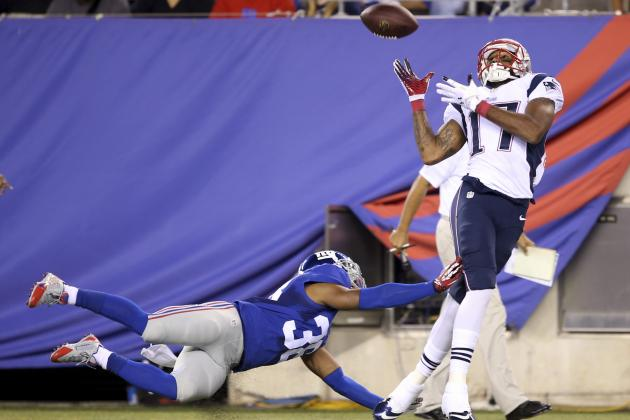 Aaron Dobson Looks Ready to Go for Regular Season