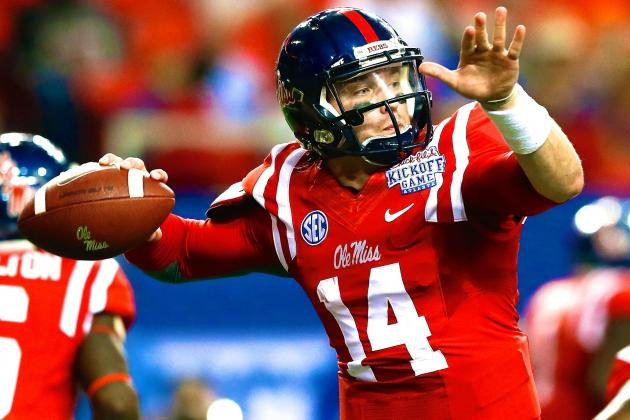 QB Bo Wallace's Continued Struggles Mean Ole Miss Will Have to Win with D