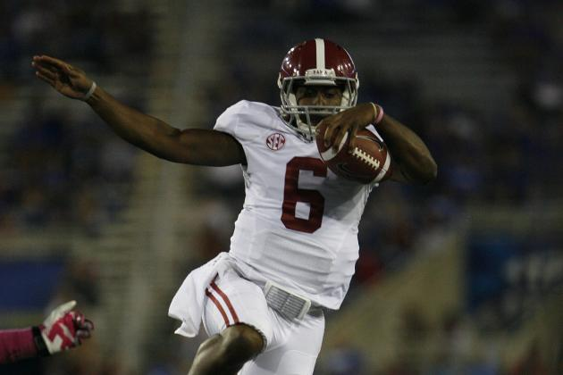 Alabama Football: What to Make of Blake Sims Starting Reports and Other Notes