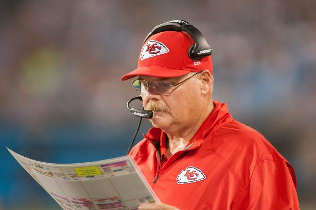 Andy Reid Not Concerned About WR Depth