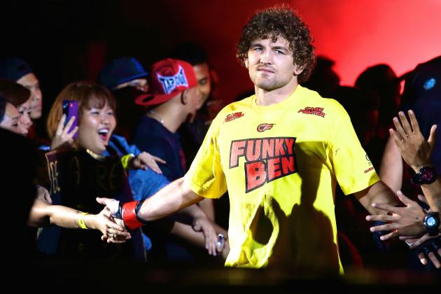 Ex-Bellator Champ Ben Askren Wins ONE FC Welterweight Title with Ease
