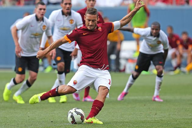 Roma vs. Fiorentina: Date, Time, Live Stream, TV Info and Preview