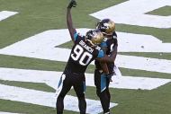NFL Players Celebrate Big Plays by Pretending to T…