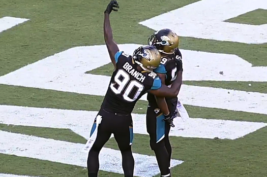 NFL Players Celebrate Big Plays by Pretending to Take Selfies