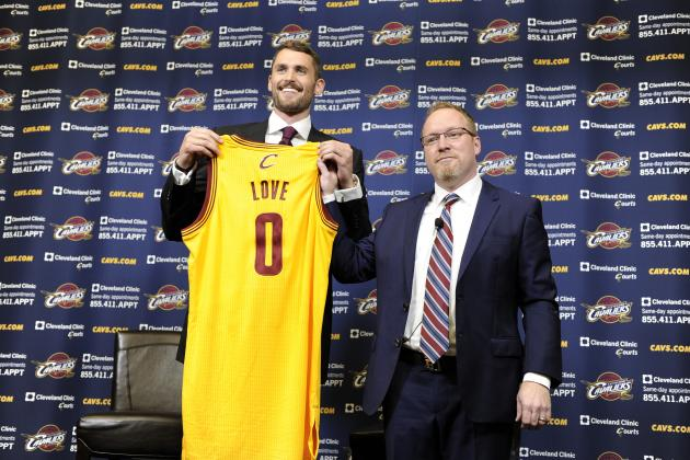 Kevin Love Facing Toughest Test of NBA Career with Cleveland Cavaliers
