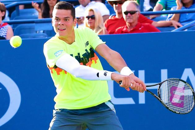 Confident Milos Raonic Ready to Lead the Next Generation of Men's Tennis Stars