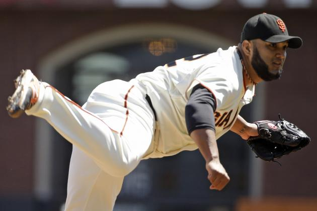 Giants' Yusmeiro Petit Retires MLB-Record 46 Straight Batters