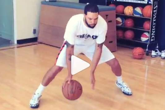 Watch: D-Will Working on His Handles
