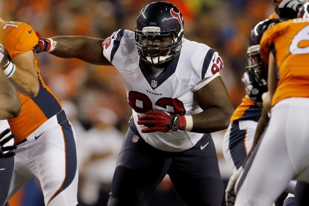 Texans Coach Bill O'Brien Says Rookie DT Louis Nix Has a Long Way to Go