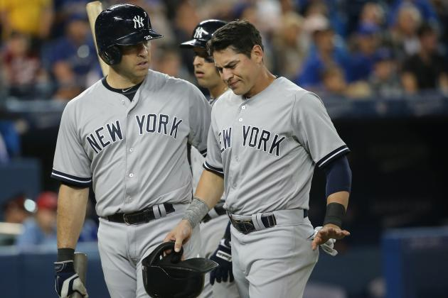 Ellsbury Injures Ankle vs. Blue Jays