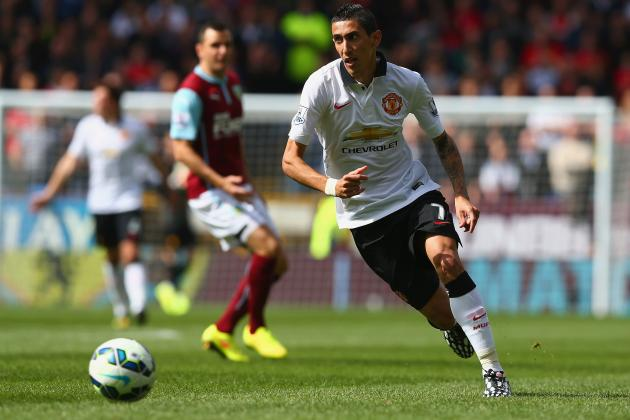 Twitter Reacts to Angel Di Maria, Wayne Rooney and Robin Van Persie vs. Burnley