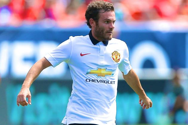 Juan Mata Injury: Updates on Manchester United Star's Hamstring and Return