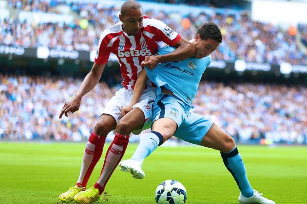 Manchester City vs. Stoke City: Live Score, Highlights from Premier League Game