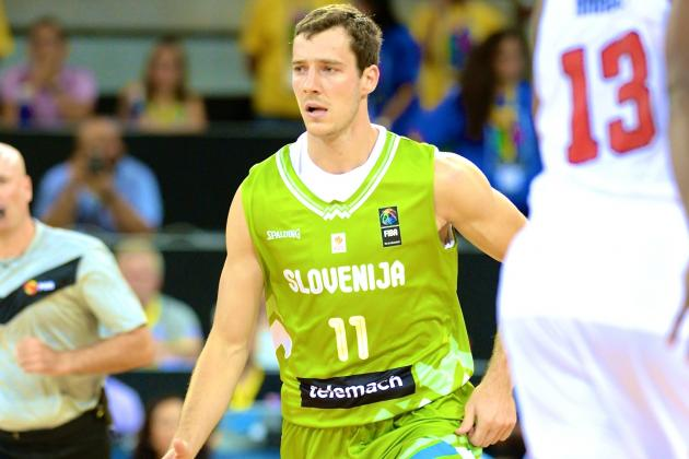 Australia vs Slovenia: Live Score and Highlights for FIBA World Cup 2014