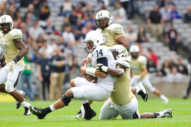 Christian Hackenberg Sets Penn State Passing Record in Epic Victory vs. UCF