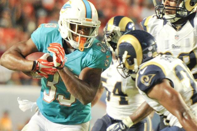 Report: Daniel Thomas released by Miami Dolphins