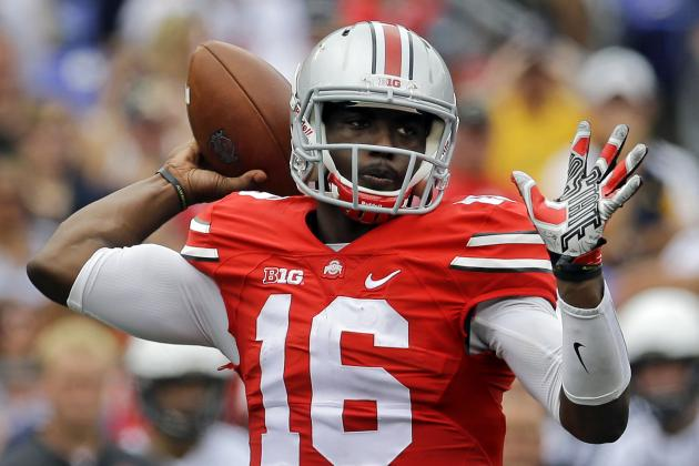 JT Barrett Debuts for Ohio State: Final Stat Line, Highlights, Twitter Reaction