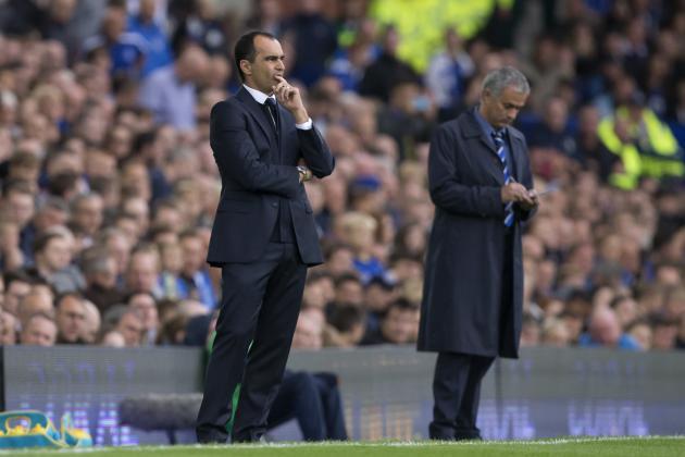 Everton vs. Chelsea: Post-Match Reaction from Roberto Martinez and Jose Mourinho